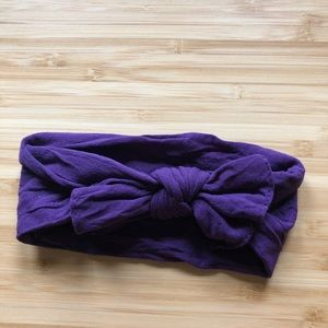 Other - Baby Bling Bow Deep Purple